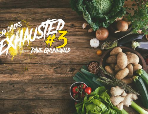 Exhausted #3: The right nutrition